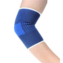 Elbow Support 2 Pcs Elbow Pad Sports Elbow Protector for Football Basketball Badminton