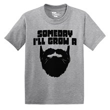 Someday I'll Grow A Beard TODDLER Little Boy / INFANT T-shirt Tee Shirt Hipster Harajuku Brand Clothing T Shirt Top Tee(China)