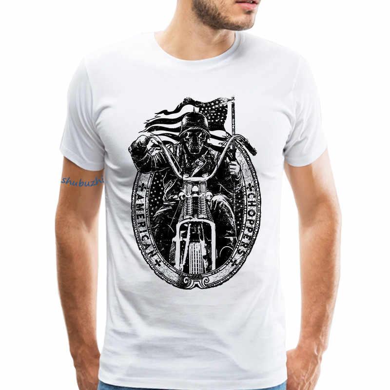 1e8fe5ed9 Retro Custom Motorcycle T Shirt Men Short Sleeves Fashion Design Motorcycle  Club Tee Shirt Urban Style