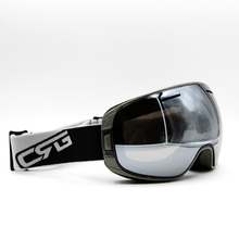 Silver Lens Gray Frame Brand New Ski Goggles UV400 Anti-Fog Eyewear Mask Glasses Skiing Men Women Snow Snowboard Goggles(China)