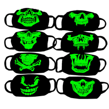 Buy LNRRABC Trendy Anti Haze Mask Respirator Health Cycling Luminous Skull Print Mouth Face Mask Anti-dust Women Fashion Face Masks for $1.25 in AliExpress store