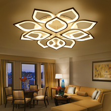 NEO Gleam New Acrylic Modern Led ceiling Chandelier lights For Living Room Bedroom Home Dec lampara de techo led moderna Fixture(China)
