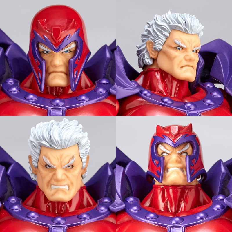 FIGMA Series NO.006 Magneto Figure NO.006 Revoltech Magneto PVC Action Figures e Collection Model Toy Doll Gift (6)