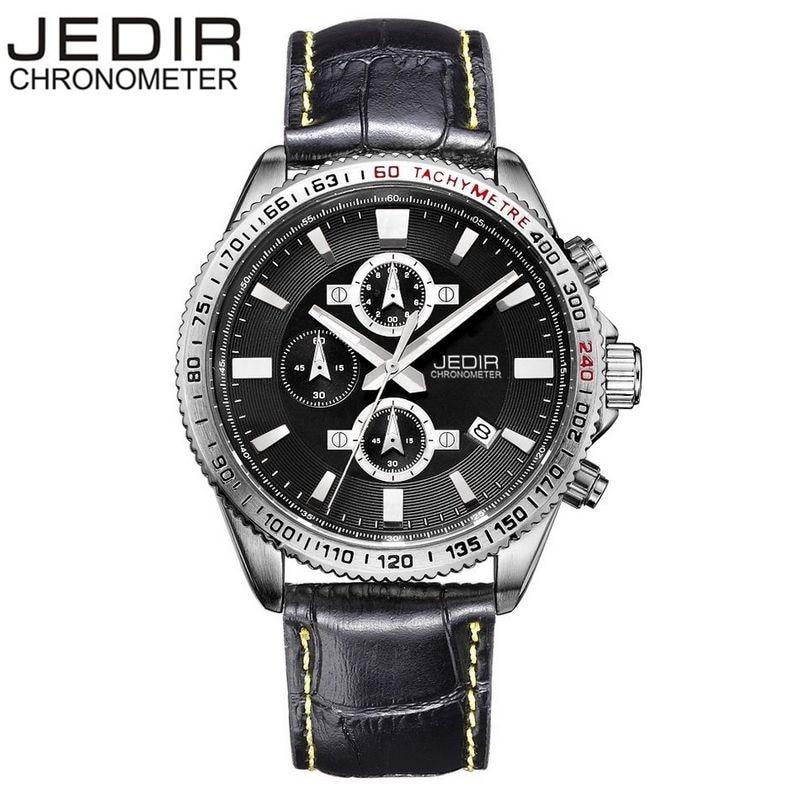 JEDIR Casual Mens Relogio Masculino Day/Chronograph Montre Homme Quartz Watch Sport Wristwatch Gift Box Free Ship<br><br>Aliexpress