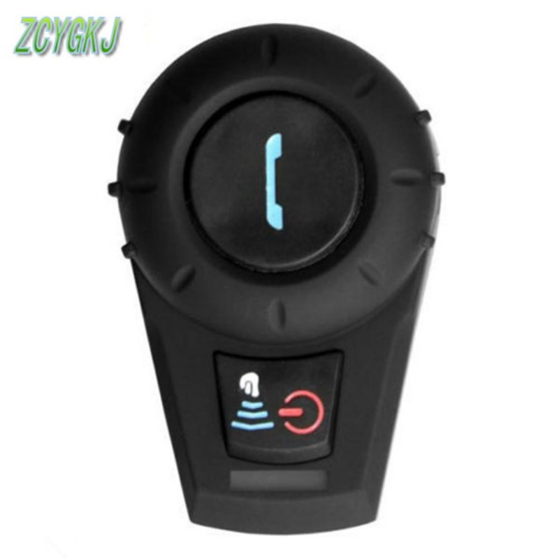 2016 Newest + FM Radio! 500M BT Bluetooth Motorcycle Helmet Intercom BT Interphone Intercomunicador Motocicleta(China (Mainland))