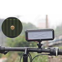 Waterproof Bluetooth Speaker Mini Wireless NFC Super Bass Subwoofer Outdoor Sound Box Portable MP3 Music Player Bicycle Bracket