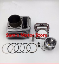62MM LX175 LONCIN CG175 175CM3 Air Cooling Cooled Motorcycle Engine Cylinder Kits With Piston And 15MM Pin(China)