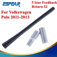 "Universal 6.8"" Car Roof Amplified Antenna Aerial 5mm Thread Screw For VW Golf GTI Polo Skoda MK4 Octavia Car Accessory #9137"