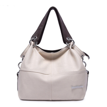 2016 Women Bag Hotest Handbag PU Leather Hobo Shoulder Casual Messenger Bag for Girls and ladies