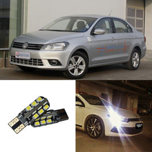 2pcs Advanced LED Width Lamps Car Wedge Warning Light Bulb For Volkswagen Jetta