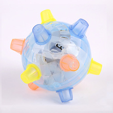 Children Dance Music Flash Ball Electric Light Bouncing Balls Baby Small Lighting Toys TY0247