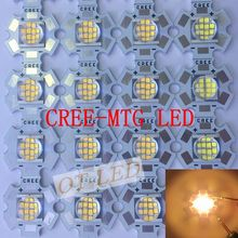 Cree MT-G MTG LED EasyWhite 18W~24W 3000K/5000K  DC36V/6V LED Light for spot light on 20MM star PCB