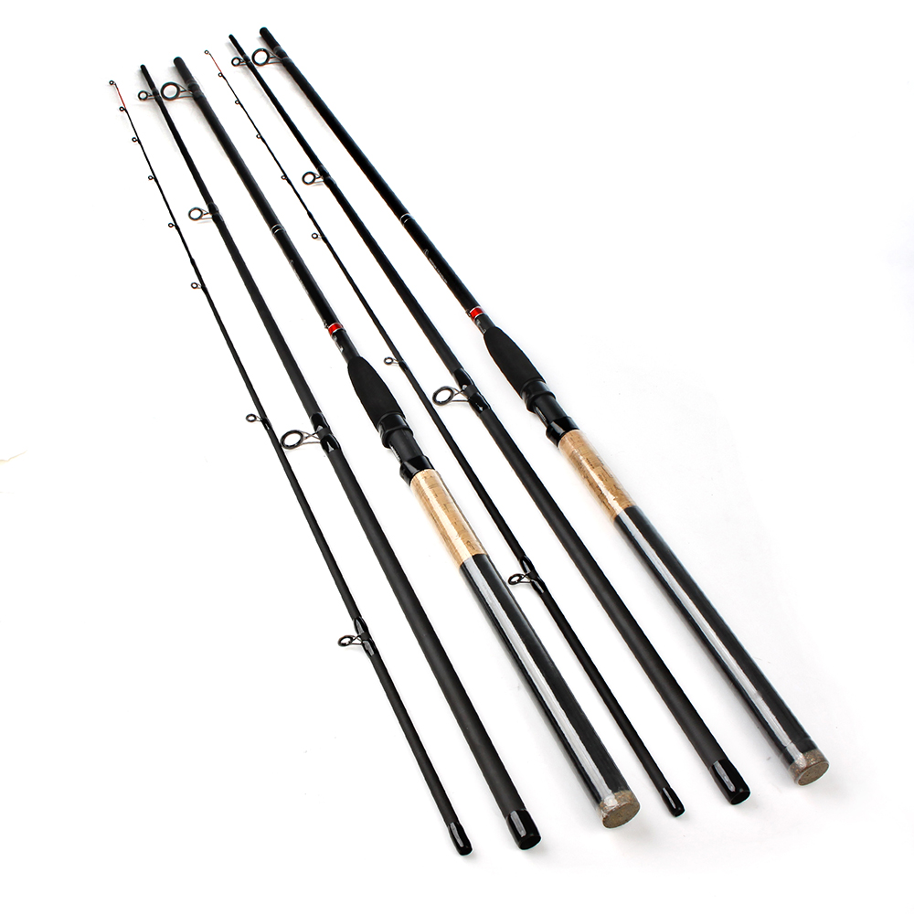 FISHIKING Feeder High Carbon Super Power 3 Sections 3.6M 3.9M Lure Weight 40 -120g Feeder Fishing Rod Feeder Rod<br>