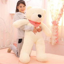 140cm 5 Color Squinting Lovely Hug Teddy Bear Large Bear Giant Soft Teddy Bear Plush Toy Gift Plush Ted Plush Baby Toys For Gift