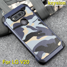 Hot case for LG V20 2 in1 Army Camo Camouflage Pattern PC+TPU Armor Anti-knock Protective Cover For LG V20
