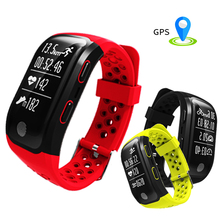 2017 IP68 Waterproof Smart Bracelet Watch S908 GPS Smart Band Heart Rate Wristband Sleep Monitor Fitness Pedometer Sport Tracker