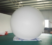 Customized advertising balloons inflatable PVC helium balloon,Inflatable sky balloon for event(2m & 5m)(China)