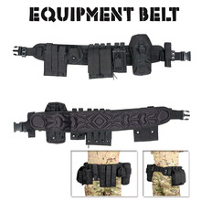Tactical  Military 600D Oxford Cloth Men Rescue Gear Belt  Hunting Accessory Belt For Paintball Accessory  CL11-0021