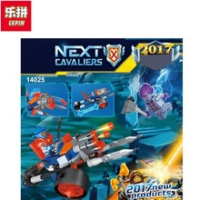 Lepin 14025 Nexus Knights Building Blocks set King's Guard Artillery Kids gift bricks toys compatible 70347 - Toy World Store store