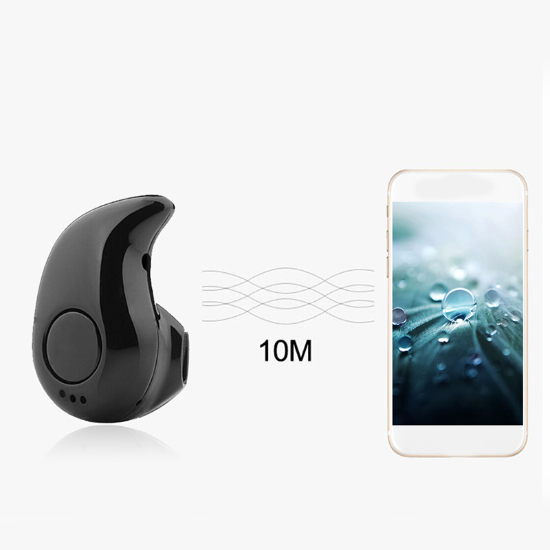 New Stable Mini Wireless Bluetooth V4.0 Earphone S530 Small Sport Headphone Earbud Earpiece With Mic For iPhone6 7 Samsung S6 S7