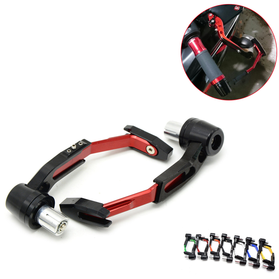 22mm CNC Protector Lever Brake Clutch Protect Motorcycle Guard Proguard For Honda GROM msx 125 pcx 125 150 CBR 600 RC51 CBR600RR<br>
