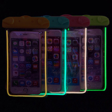 Night Light Phone Bag Underwater Waterproof Phone Bag Diving Bag Mobile Phone Pouch Case For Motorola Moto X Play /Moto X3 Lux