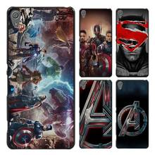Avengers Age Of Ultron Style Case Cover for Sony Ericsson Xperia X XZ XA XA1 M4 Aqua E4 E5 C4 C5 Z1 Z2 Z3 Z4 Z5(China)