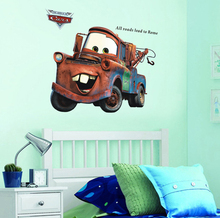 Cartoon movie Cars Wall Stickers for kids Room Children Boy Bedroom Wall Decals children gift mural arts waterproof posters