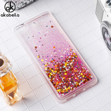 AKABEILA Glitter Liquid Soft TPU Case For Xiaomi Mi5s Xiaomi Mi 5S 5.15 inch Covers Silicone Phone Case Back Cover Coque