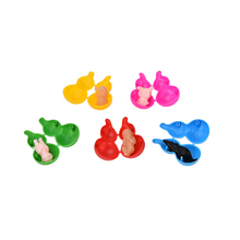 NEW Gourd Shock Joke Gum Shocking Toy Gift Prank Trick Gag Funny Novelty Gags Toys New Arrival 1PC Random Colors(China)