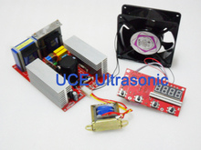 500W ultrasonic power generator+display board,Ultrasonic frequency and current adjustable(China)