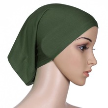 H993 latest cotton modal tube underscarf,plain tube hats,fast delivery,can choose colors