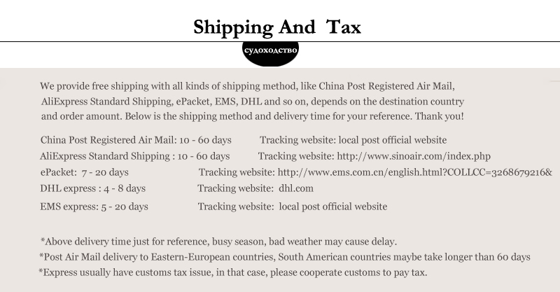 shipping and tax 2