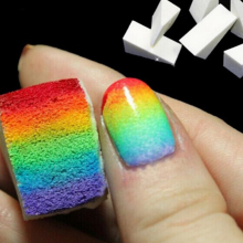 Nail Salon 2pcs/lot Gradient Nails Soft Sponges for Color Fade Manicure DIY Creative Nail Art Tools Accessories SANA144x2