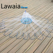 Lawaia 3-7.2m Frisbee Throwing Hand American Fishing Network Fishing-net-china Fishing Net China Fishing-net Trap For Crabs