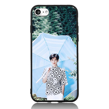 Beach Umbrella EXO Korea Star Music Art For iPhone 6 6s 7 Plus Case TPU Phone Cases Cover Mobile Protection Decor Gift(China)