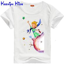 2017 the Little Prince summer cotton children t shirts girls t shirt boys clothing kids clothes boys t shirt France&Israel 2-12y(China)