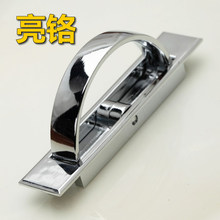 10Pcs Tatami handle bed black and dark handle Super durable invisible handle bright chrome(China)