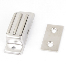 "PROMOTION!Cabinet Door Silver Tone Metal Magnetic Catch Latch 2"" Long(China)"