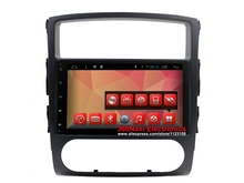Quad Core Android Car DVD GPS for Mitsubishi Pajero IV 2006-2011 Autoradio GPS with BT Radio RDS Wifi Mirror-link 8GB map card