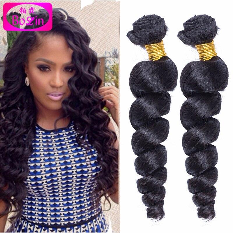 Malaysian Virgin Hair Extension 4 bundles Human Hair Malaysian Loose Wave Bolin Hair Products 6A Unprocessed Virgin Hair Weave<br><br>Aliexpress