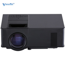 VS314 Mini LED Projector Full HD 1500 Lumens 800 x 480 Pixels 0.9-6M Home TV Media Player Portable Home Theater Proyector uc46
