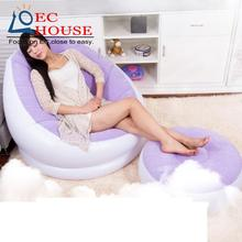 lazy leisure inflatable bed folding cr sofa single creative tatami FREE SHIPPING