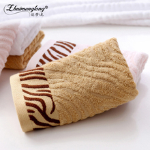 Zhuimenglong 2PCS 34*75cm Soft Cotton Face Towel Bamboo Fiber Towels Quick Dry Bathroom Towels For Home Hotel White,Pink(China)