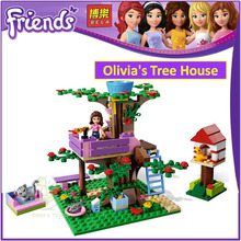 BELA 10158 Compatible with Friends Olivia's Tree House 3065 Building Blocks Emma Mia Figure Educational Toys For Children Girls