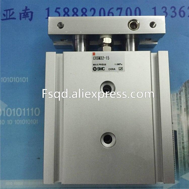 CXSM32-70 CXSM32-75 CXSM32-100 CXSM32-125 CXSM32-150 SMC Dual Rod Cylinder Basic Type pneumatic component air tools CXSM series <br>