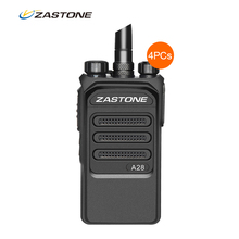 4PCS Zastone ZT-A28 talkie walkie Two Way Walkie Talkie 10KM 10W VHF Handheld Two Way Radio 400-480MHz UHF amateur Radio Scanner