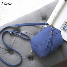 Womens Faux Suede Leather Diagonal Shoulder Bag Ladies Solid Zipper Satchel Handbag Tote Hobo Bucket Soft Crossbody Bags(China)