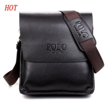 new 2017 hot sale fashion men bags, men famous brand design leather messenger bag, high quality man brand bag, wholesale price(China)