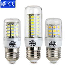 High Lumen 220V E27 Led Bulb Chandelier Corn Lights 24 36 48 56 69 LEDs Ultra Bright SMD 5730 LED Bulb Lamp Ampolletas Spot Lamp(China)